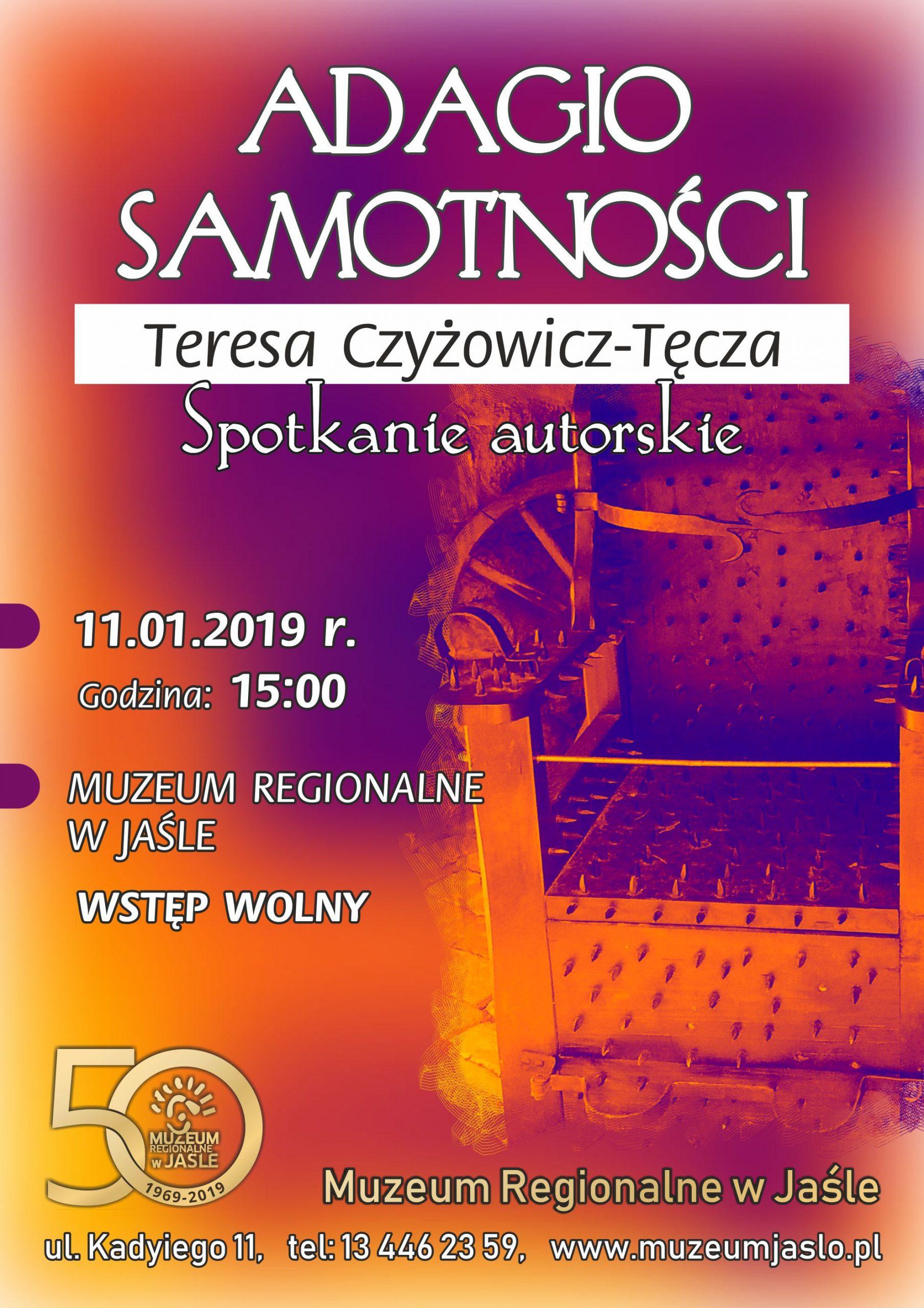 Adagio Samotności Teresa Czyżowicz Tęcza Spotkanie