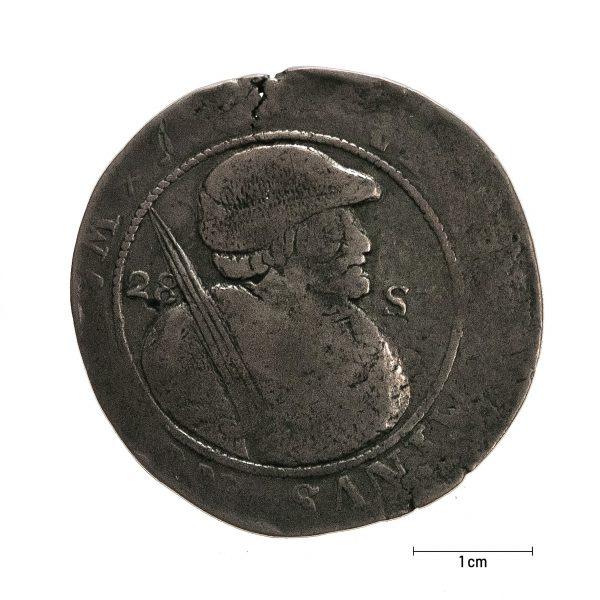 0925 Zbiory numizmatyczne St. Kadyiego; półtalar przypuszczalnie holenderski- awers