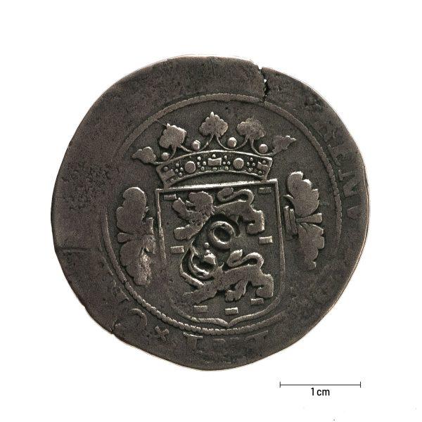 0925 Zbiory numizmatyczne St. Kadyiego; półtalar przypuszczalnie holenderski- rewers