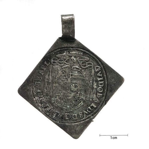 0929 Zbiory numizmatyczne St. Kadyiego; Gwidobald arcybiskup Salzburg (1658); 0,06 talara - rewers