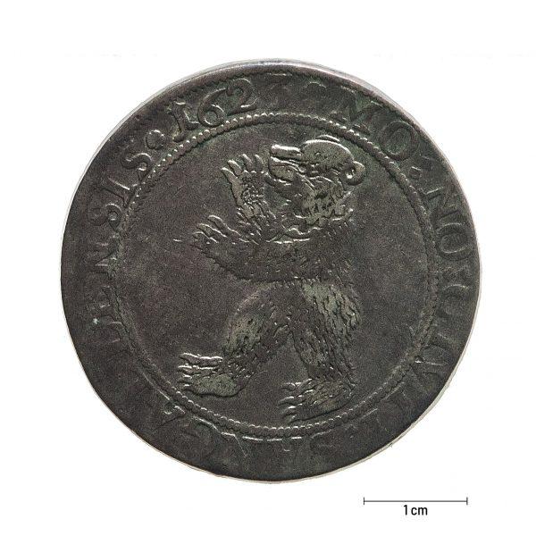 0934 Zbiory numizmatyczne St. Kadyiego; (1761); Sanct Gallen, Szwajcaria (1623); talar - awers