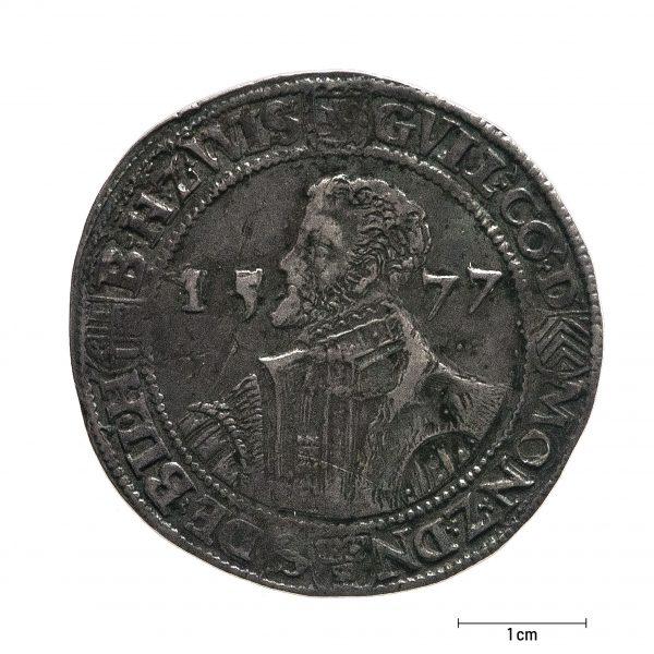0935 Zbiory numizmatyczne St. Kadyiego; Księstwo Dieren (1577); talar – awers