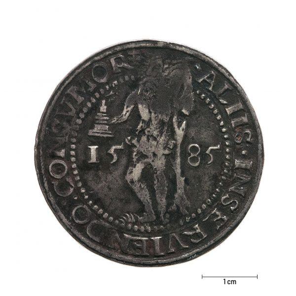 0937 Zbiory numizmatyczne St. Kadyiego; Juliusz Księstwo Braunschweig-Luneburg (1585); talar - awers