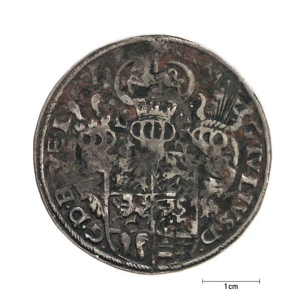 0937 Zbiory numizmatyczne St. Kadyiego; Juliusz Księstwo Braunschweig-Luneburg (1585); talar - rewers
