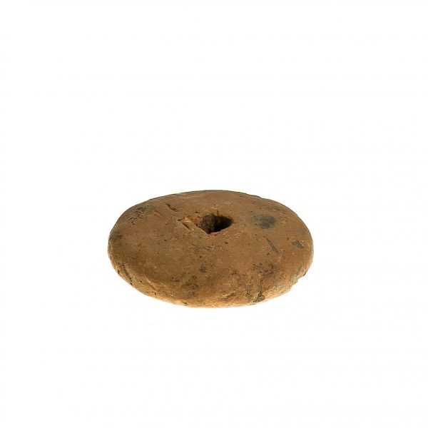 1506-2 M. A. Przęślik – narzędzie tkackie (Wrocanka stan. 14, pow. krośnieński) ok. VIII w. p. n. e, glina