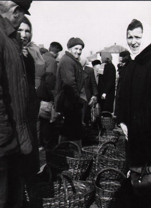 193 A.F. Etnografia, Targ w Jaśle, 1974 r.