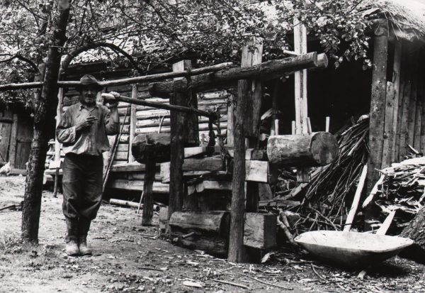 210 A.F. Etnografia, Olejarnia Wojciecha Śliwy, 1944 r.