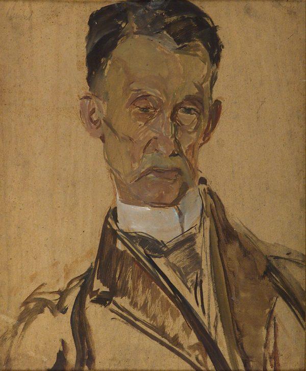 2320 AH autor Ignacy Pinkas, Portret Fedorowicza, oplej dykta, 57x44, fot