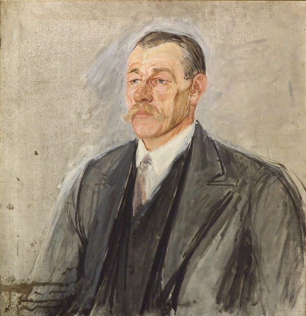 2351 AH autor Ignacy Pinkas, Portret majstra kominiarskiego z Krowodrza, 1030, olej płótno, 68x66, fot