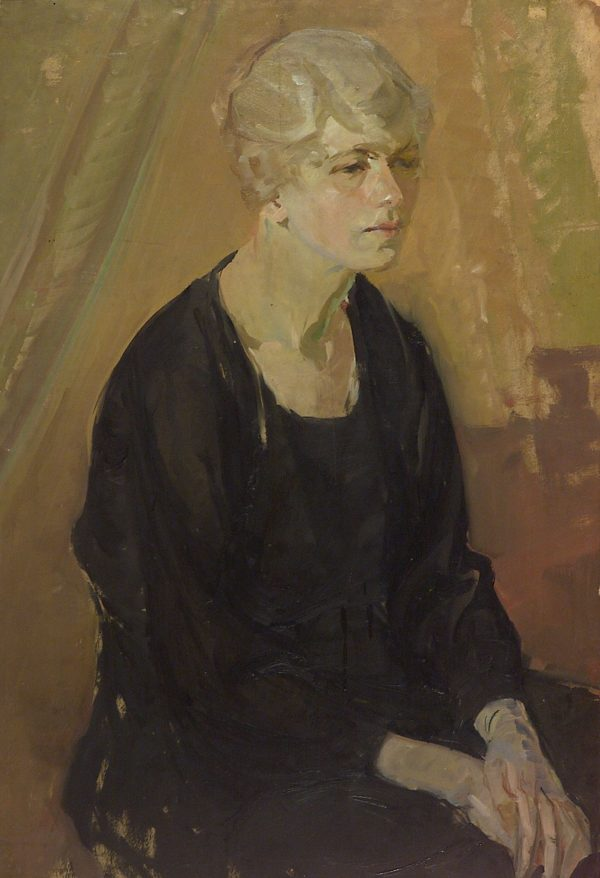 2355 AH autor Ignacy Pinkas, Portret kobiecy, olej dykta, 98x67, fot