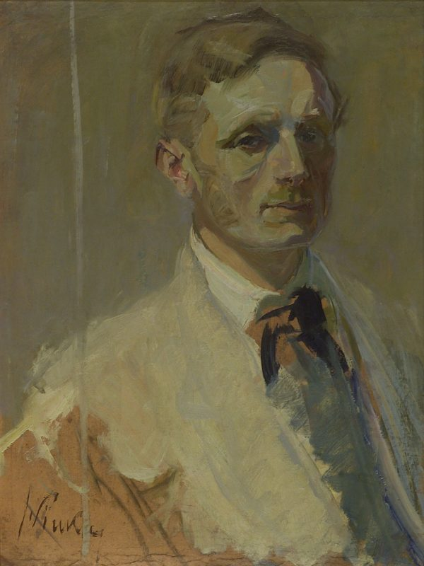 2362 AH autor Ignacy Pinkas, Autoportret, 1908-14, olej dykta, 63x48, fot