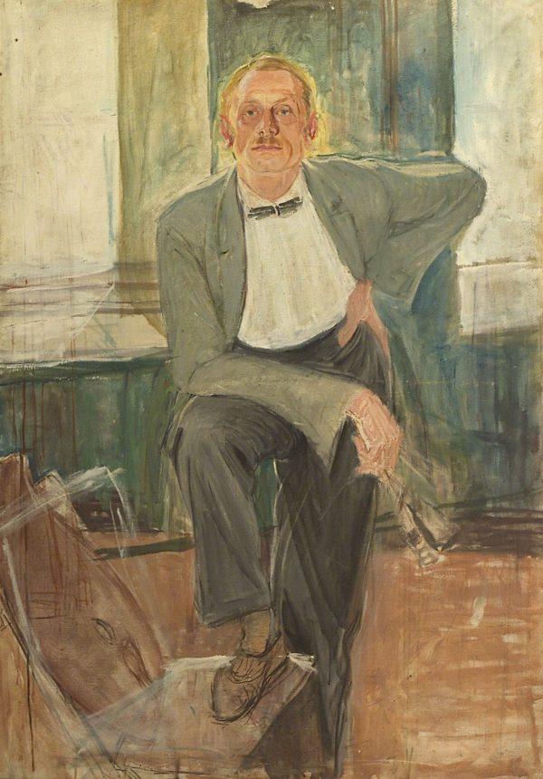 2382 AH autor Ignacy Pinkas, Autoportret, plej płótno, 135x95, fot