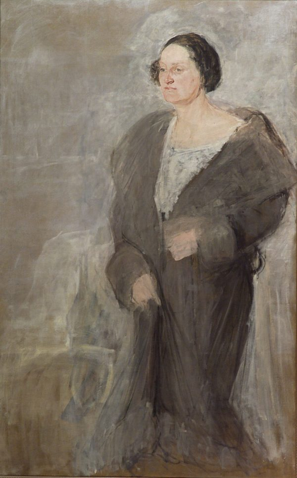 2502 AH autor Ignacy Pinkas, Portret, 1929, olej płótno, 151x96, fot