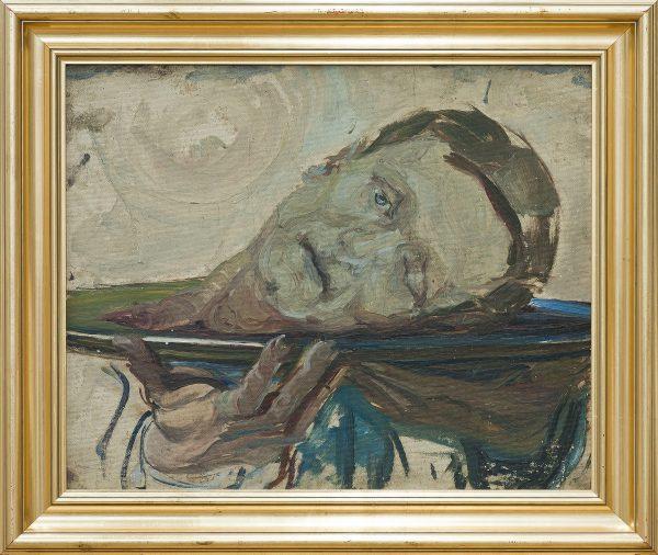 2537 AH autor Ignacy Pinkas, Głowa św. Jana, olej dykta, 41x49, fot. MSz