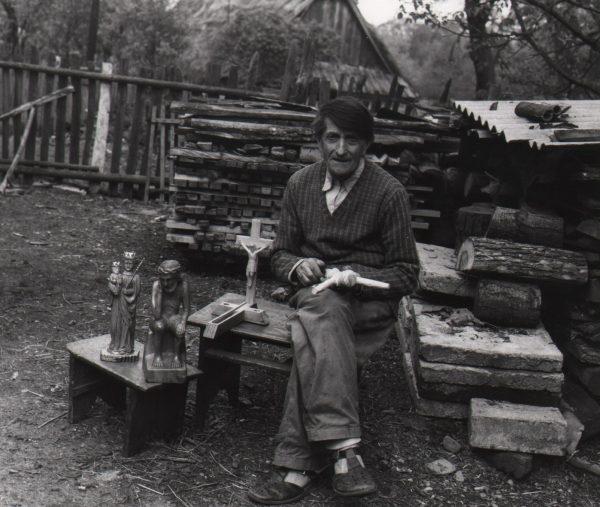 581 A.F. Etnografia, Józef Rzońca z Cieklina, 1976r.